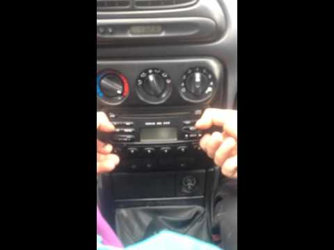 Ford cd player remove 6000 rds