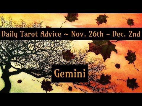 Gemini *Magical & Lucky week!* - Nov 26th ~ Dec 2nd