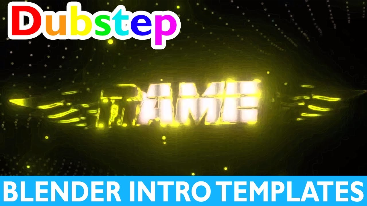 Top 10 Blender Dubstep Intro Templates 2017 + Free Download Gaming ...