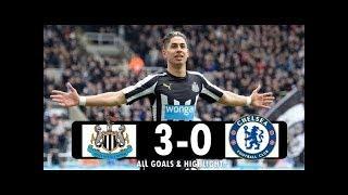 Newcastle Vs Chelsea 3 - 0 Premier League 13.05.2018