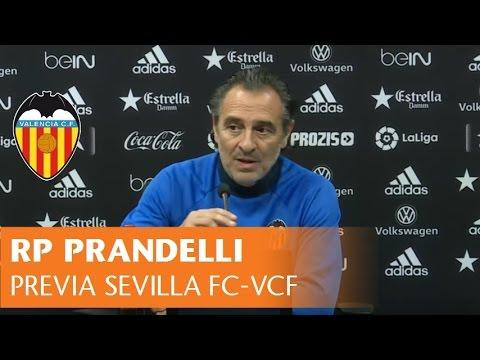 Rueda de prensa Cesare Prandelli