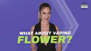 Vaping Vs. Smoking - Marijuana Morning News - Oct 23