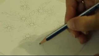 Ваза с цветами Как нарисовать вазу с цветами Учимся рисовать(Это видео уроки рисования для детей, с помощью которых можно нарисовать рисунок даже без навыков рисования., 2016-10-17T05:19:54.000Z)