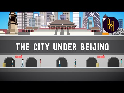 The Underground City of 1 Million Beneath Beijing