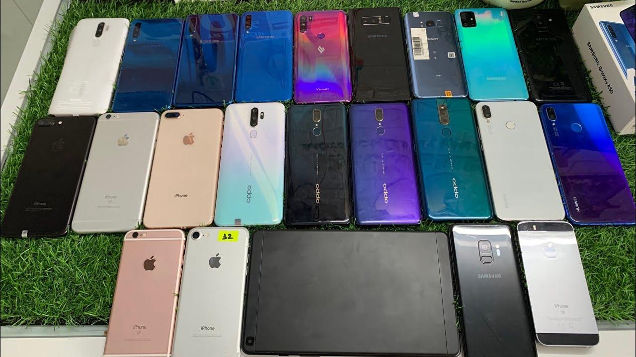 Điện Thoại Cũ 9 hãng thanh lý 02/07/2020 : SamSung , Oppo, IPhone, Vsmart
