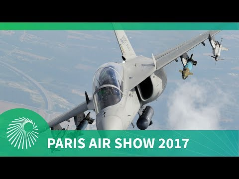 Paris Air Show 2017: Leonardo Aircraft M346 Fighter Attack first showing