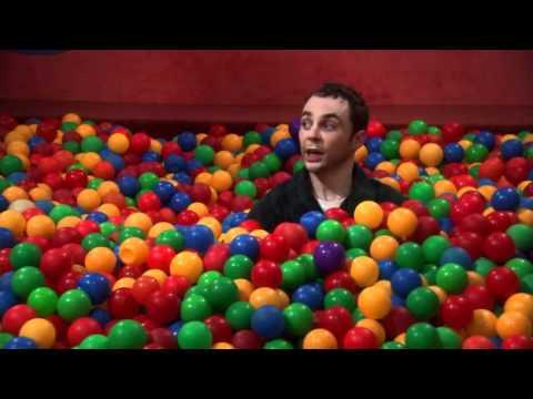 The Big Bang Theory Sheldon Bazinga! in ball pit