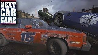 Next Car Game - E12 - New Demolition Derby Tracks!