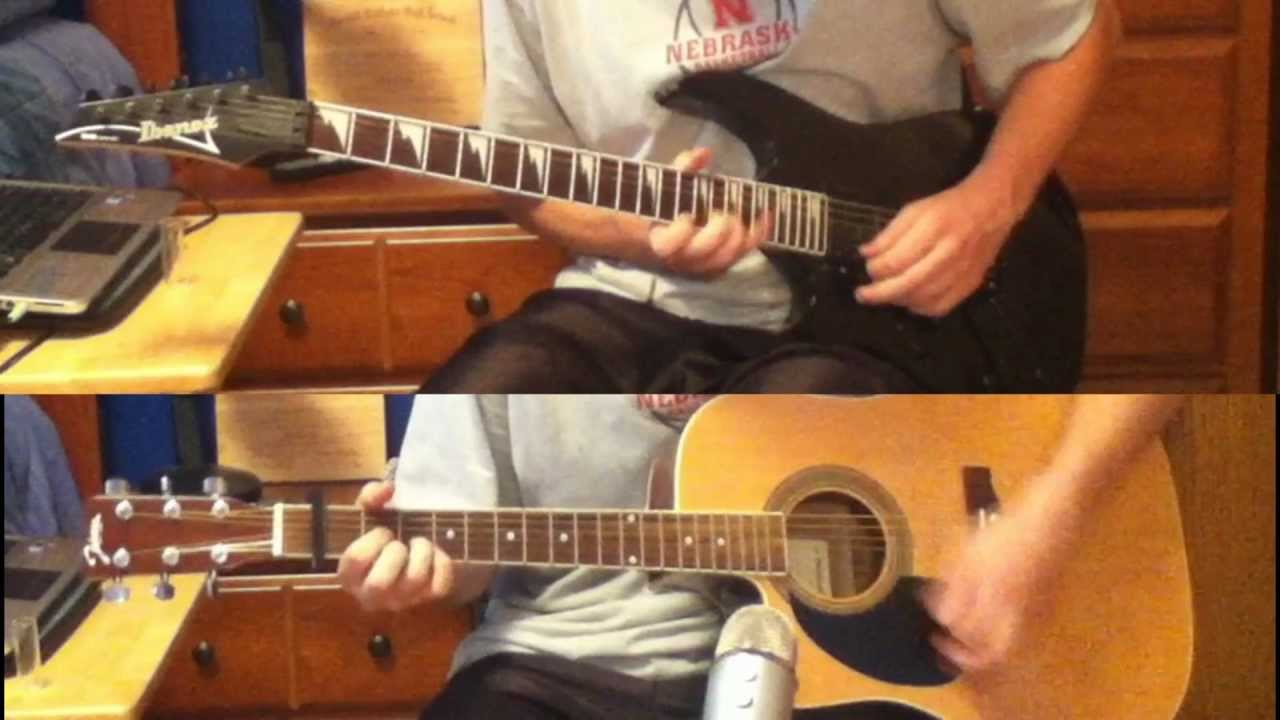 What Hurts The Most Rascal Flatts Guitar Cover With Tabs Youtube