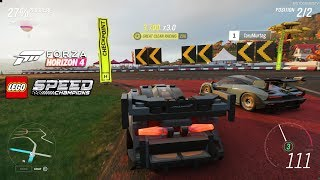 Forza Horizon 4 LEGO McLaren Senna Speed Champions Race [4K 60FPS]