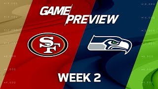 San Francisco 49ers vs. Seattle Seahawks | Week 2 Game Preview | NFL