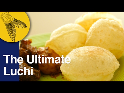 Luchi: How to make perfect Luchi   Bengali deep fried puffy bread