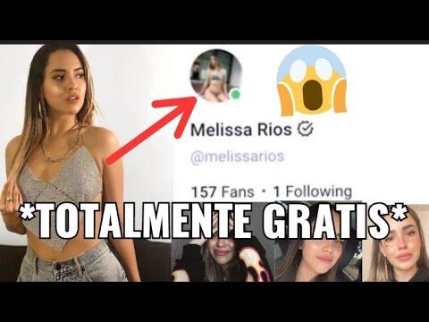 ¡¡¡ONLYFANS DE MELISSA RIOS GRATIS!!! *no es clickbait*