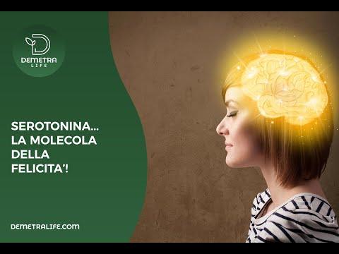 Serotonina, la molecola della Felicità !
