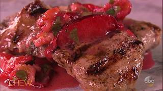 Michael's Grilled Pork Medallions with Plum Sauce | The Chew