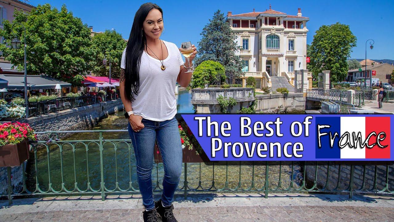 The Best Of Provence, France - Paradise In L'Isle Sur la Sorgue - La Bastide Rose Hotel - Avignon