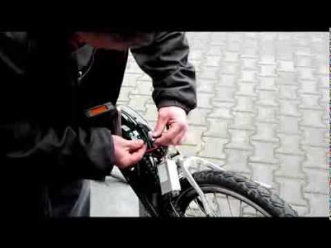 Baumarkt E-Bike Controller wechseln, hier bei einem Pedelac von ...