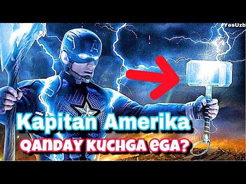 Kapitan Amerika Haqiqiy Qahramon!