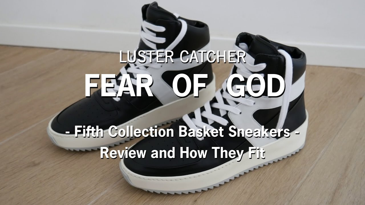 e5ebd00c5ee Fear of God Fifth Collection Basketball Sneakers