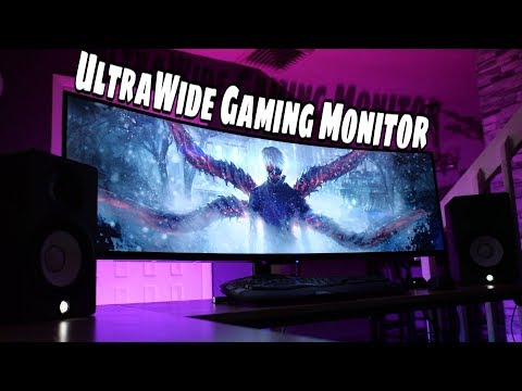 Best UltraWide Affordable Gaming Monitor 2019    Viotek 49 Curved Monitor Review