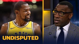 Skip and Shannon discuss who was more impressive last night: KD or the Raptors | NBA | UNDISPUTED