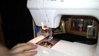Швейная машина JANOME 23 (Начало работы).(, 2015-12-25T18:52:03.000Z)