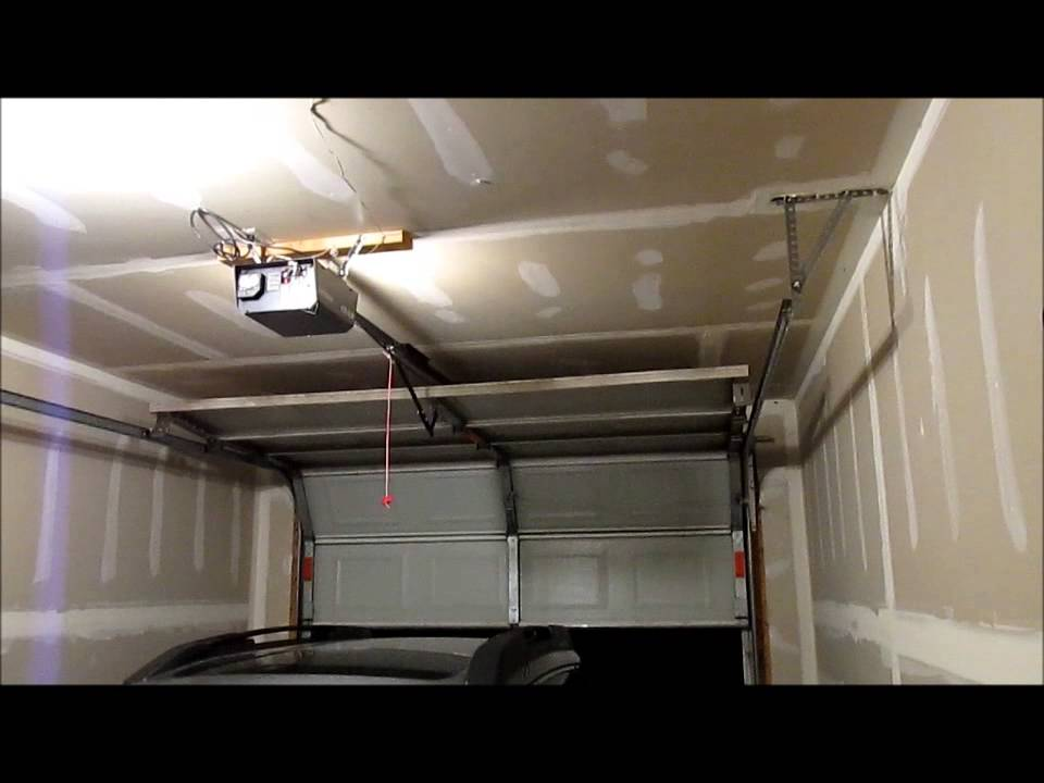 Craftsman Chain Drive Garage Door Opener Youtube