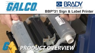 brady bbp31 sign and label printer overview and how to install labels and ribbons
