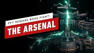 Final Fantasy 7 Remake Walkthrough  - The Arsenal Boss Fight
