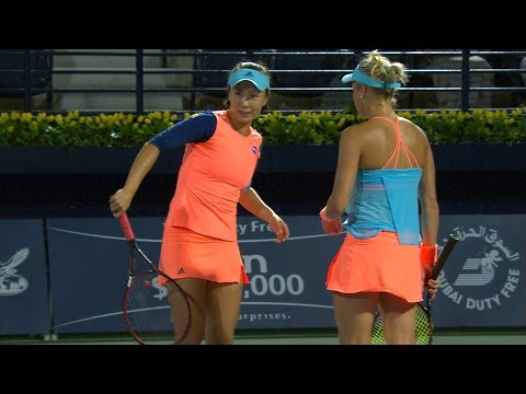 Highlights: Hlavackova/Peng d. Chang/Shvedova, SF, 2017 Duba