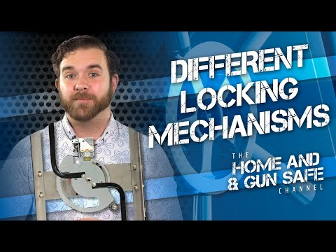 Gun Safe Locking Mechanisms