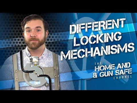 Gun Safe Locking Mechanisms