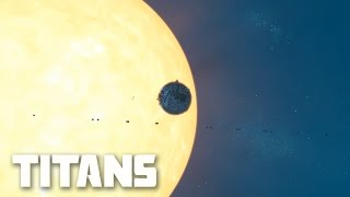 Planetary Annihilation: Titans - 10P Planet Kamikaze (Moon Rush) | Multiplayer Gameplay