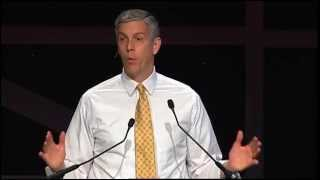 U.S. Secretary of Education Arne Duncan Speaks at NAF Next 2014