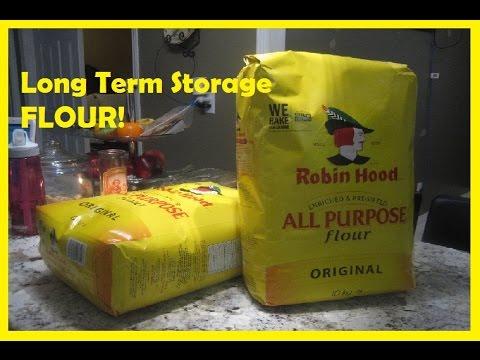 Long Term Storage of Flour
