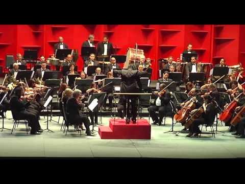 """Concierto Sinfónico de Música Paraguaya. Diego Sánchez Haase """"Pancha y Elisa""""."""