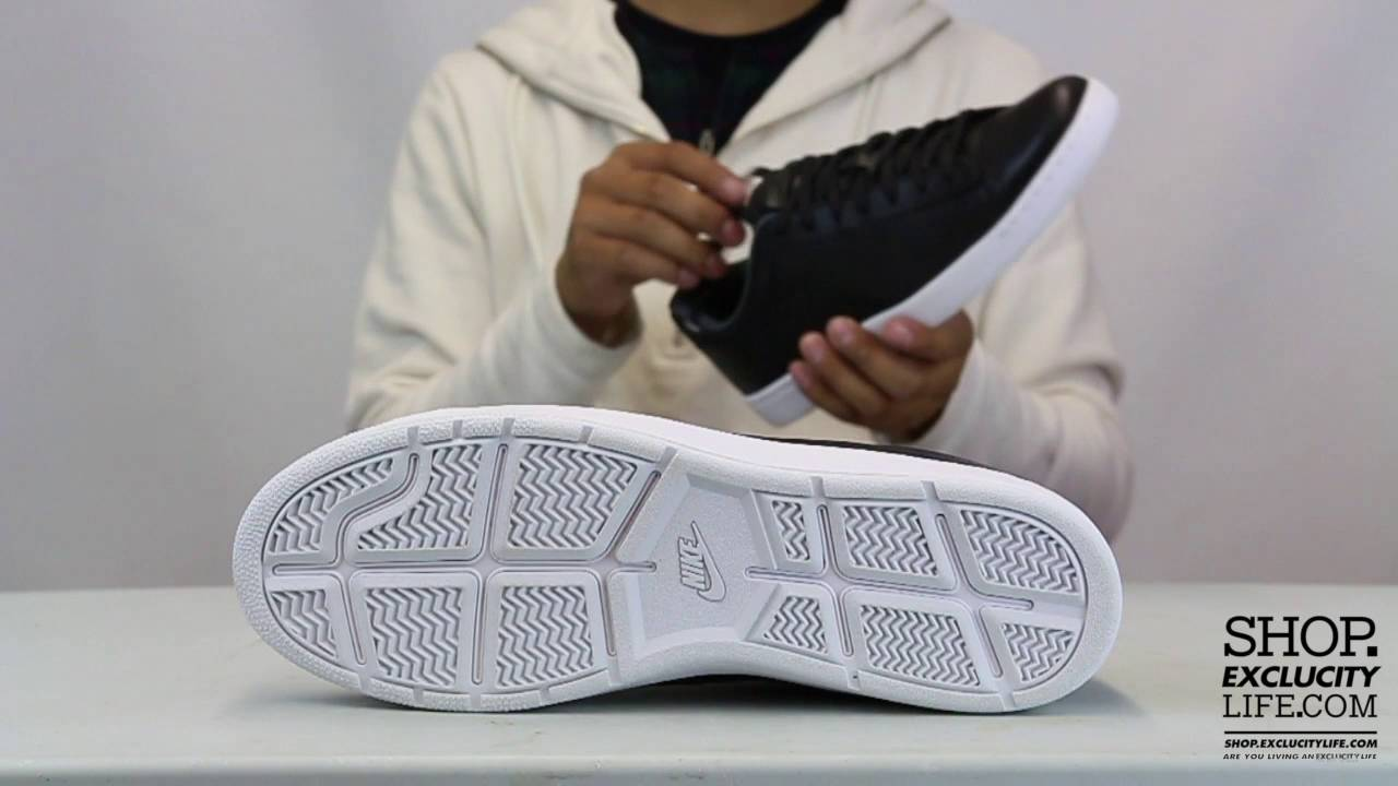 Nike Tennis Classic LTHR Unboxing Video at Exclucity