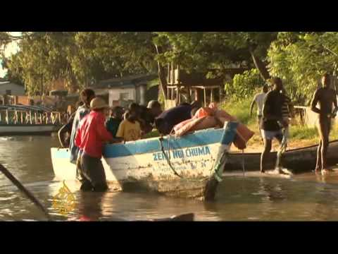 Fishermen caught in middle of Malawi lake