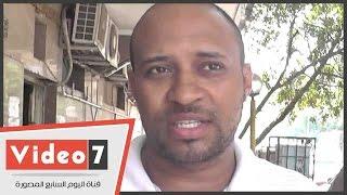 """بالفيديو .. مواطن لمحافظ الجيزة: """"بندفع ضريبة عشان نمشى فى الشارع لكن مينفعش تدفعونا غرامة """""""