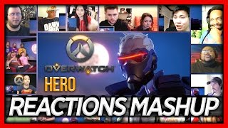 "Overwatch Animated Short ""Hero"" Reaction's Mashup (All Stars)"