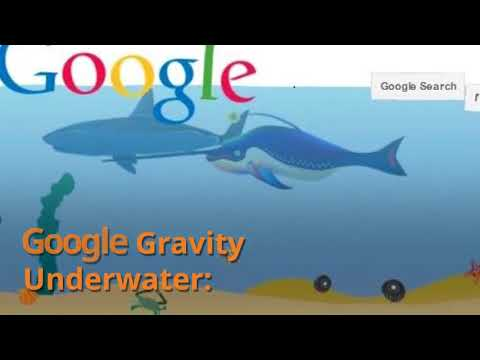 Best Google Gravity Tricks and Tips - Easter eggs