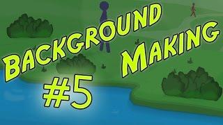 ✎ Background Making #5 - TIME LAPSE - Pivot Stickfigure Animator