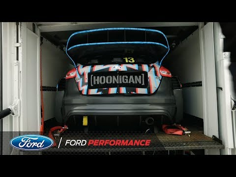 Thumbnail: How Hoonigan Racing Division Transports Ken Block's Focus RS RX | Ford Performance