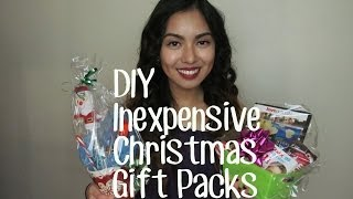 DIY Inexpensive Christmas Gift Packs | Abigaileve151 Thumbnail