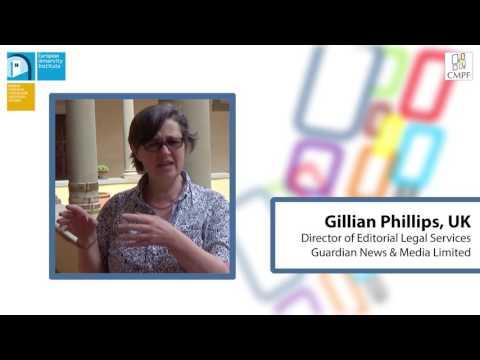 CMPF Summer School 2016: Gillian Phillips, The Guardian