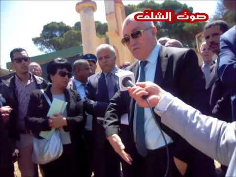 """والي الشلف يفاجىء المسؤولين بالوقوف على مشروع """"مهمل"""""""