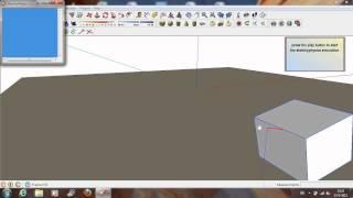 sketchup basic shape sketchyphysics tutorial