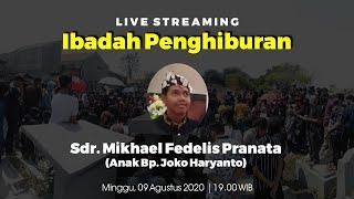 Ibadah Penghiburan Sdr. Mikhael Fedelis Pranata | GKJW Jemaat Tanjung Perak