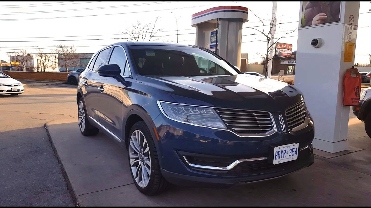2017 Lincoln Mkx Fuel Economy Review Fill Up Costs