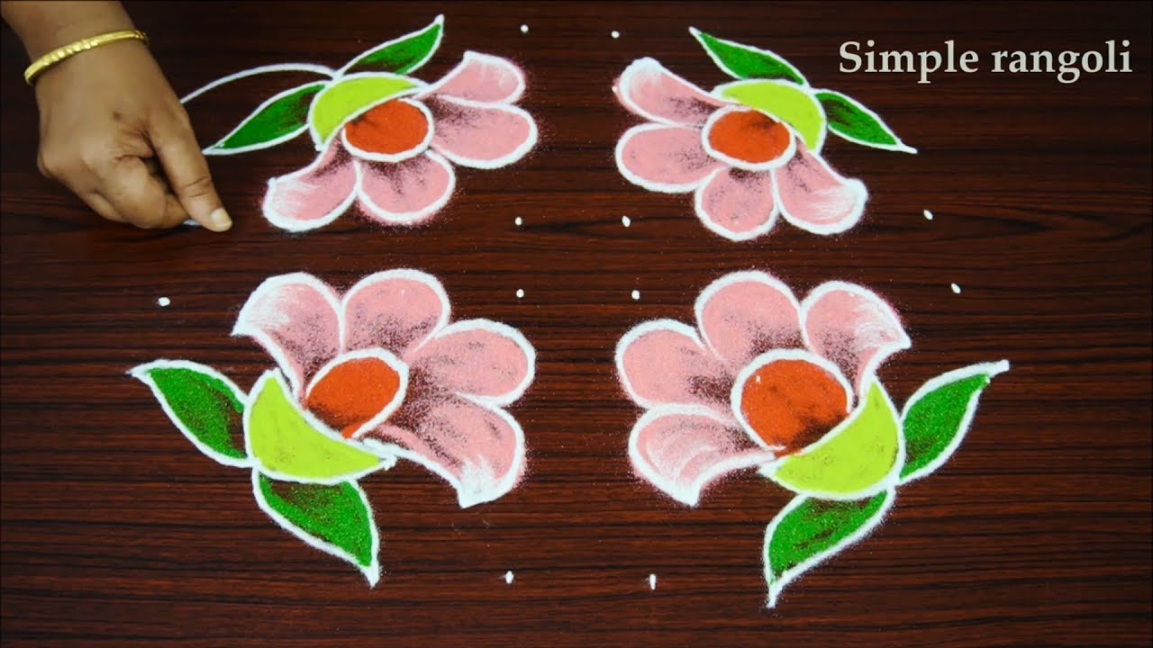 Modern rangoli designs with dots pdf